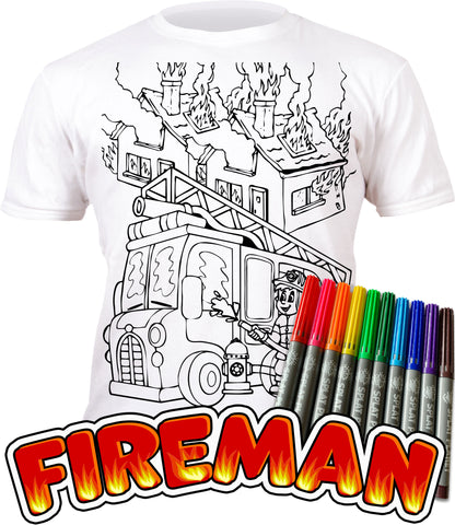 kids, children, eatsleepdoodle, eat sleep doodle, grafix, chlidrens, colour in t-shirt, splatplanet, art2colour, art 2 colour, splat planet, Butterflies, colouring, colour in, personalise, Magic, Fireman Sam