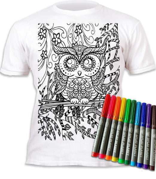 kids, children, chlidrens, eatsleepdoodle, eat sleep doodle, grafix, colour in t-shirt, art2colour, art 2 colour, splat planet, Butterflies, colouring, colour in, personalise, Magic, owl, Mandalakids, children, chlidrens, colour in t-shirt, art2colour, art 2 colour, splat planet, Butterflies, colouring, colour in, personalise, Magic, owl, Mandala