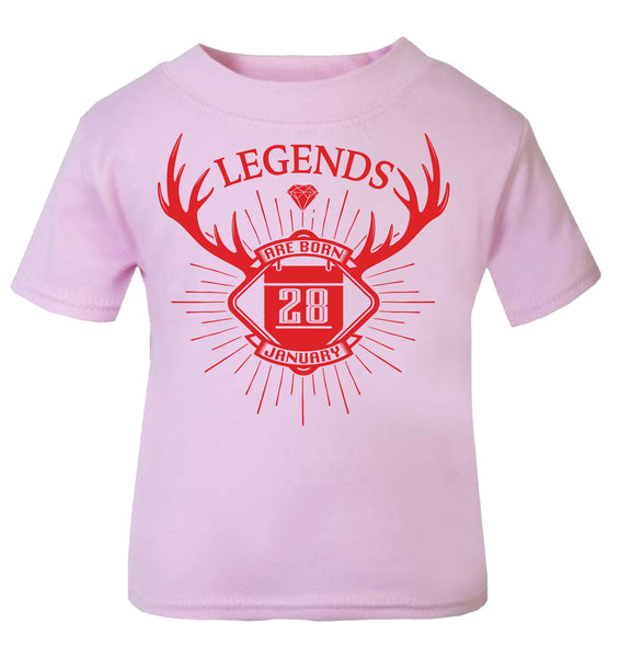 Legends are born Personalised
