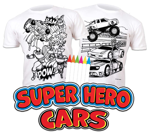 Superhero and Cars Bundle