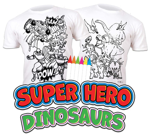 Superhero and Dinosaurs Bundle