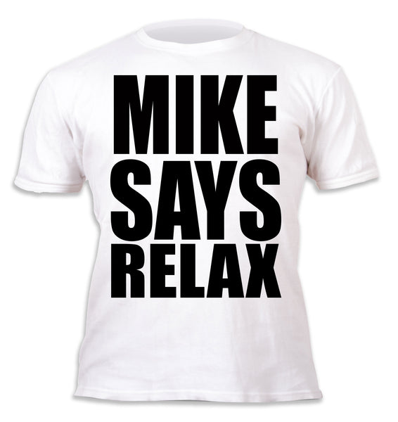 Frankie Says Relax Personalised