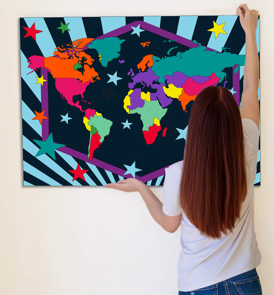 World map paint by number, world map painting, world map painting for kids, world map painting easy, world map painting by numbers uk, work map painting set, washable acrylic paints, world map gifts, paint by number on canvas, paint by numbers ready for wall mounting, paint by numbers for kids, paint by numbers for beginners, paint by numbers for children, paint by numbers with frame, world map canvas, world map wall art, world map poster for kids