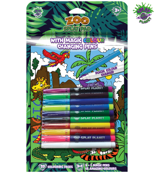 Zoo Magic Colouring Book