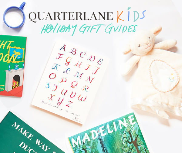 QL Kids Gift Guide: Build Baby's First Library