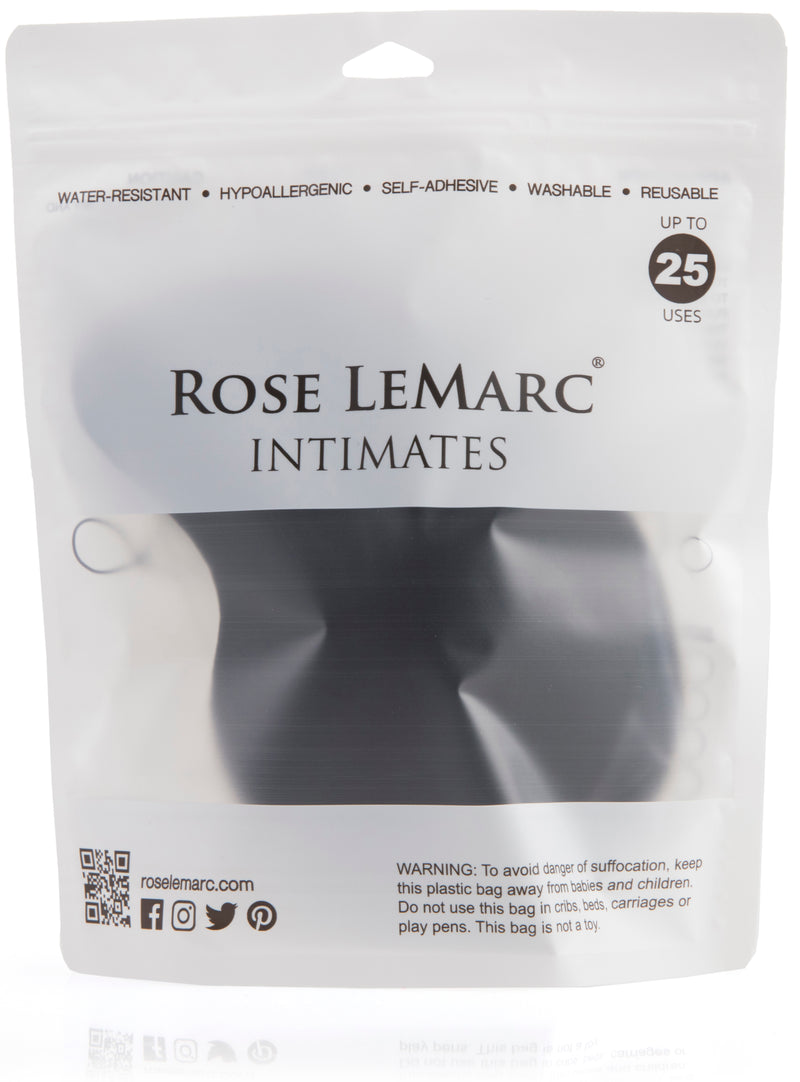 Rose LeMarc Intimates Strapless Mango Drawstring Lift Bra, Black