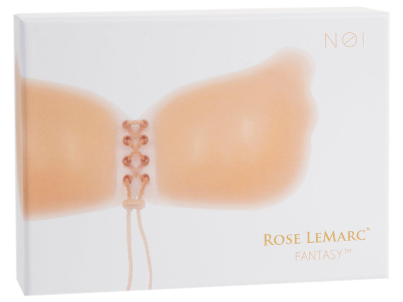 Rose LeMarc Fantasy Butterly Strapless Drawstring Push Up Silicone Bra - Nude N01 Light