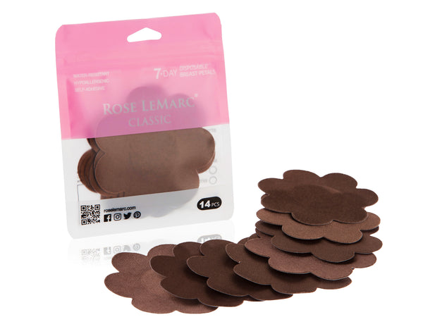 Rose-LeMarc-Classic-Nipple-Covers-Brown-Packaging