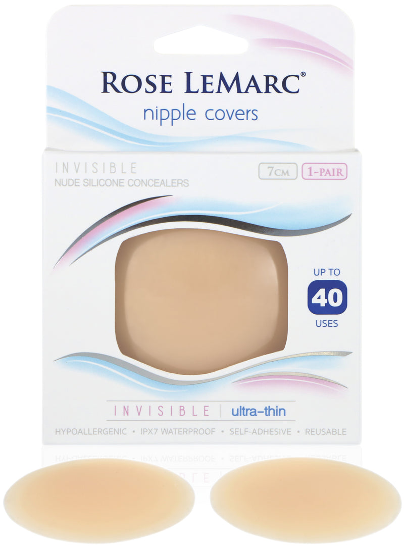 Rose LeMarc Invisible Ultra-Thin Hypoallergenic Silicone Nipple Covers