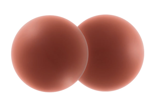Essentials Silicone Nipple Covers for Dark Skin Tone