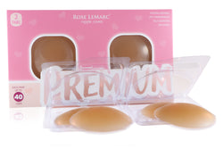 Rose LeMarc Premium Silicone Nipple Covers - Shade of Nude N02 Medium (2 Pairs)