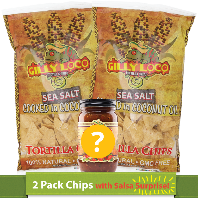 Chips (2 Pack) & Salsa Surprise