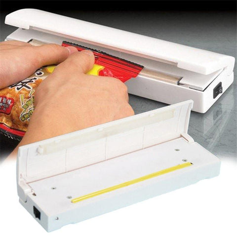 Cooking Help Hq Bag Clips Vacuum Food SealerMini Portable Heat Sealing Machine,Impulse bag Sealer,Seal Machine,Free Shipping!