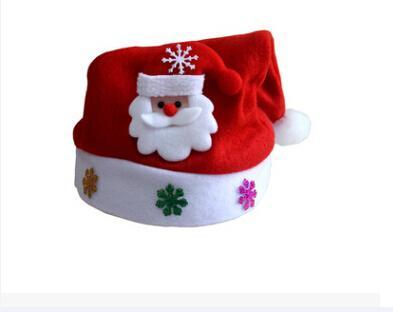 Christmas Hats For Kids.Hot Kids Adult Led Christmas Hat Santa Claus Reindeer Snowman