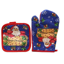 Cooking Help Hq Pendant & Drop Ornaments 2Pc Decorative Christmas Pot holders. Free S&H