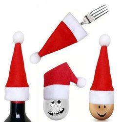 Cooking Help Hq Stockings & Gift Holders 10 Pcs/Set. Christmas Hat Creative Tableware
