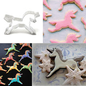 Cooking Help Hq Cake Molds Unicorn Horse Cookies Cutter Mold