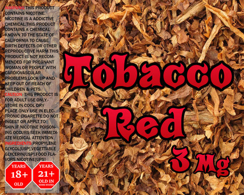 Tobacco Red & Bounty Hunter