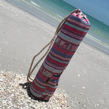 Vibrant Stripes Yoga Mat Bag