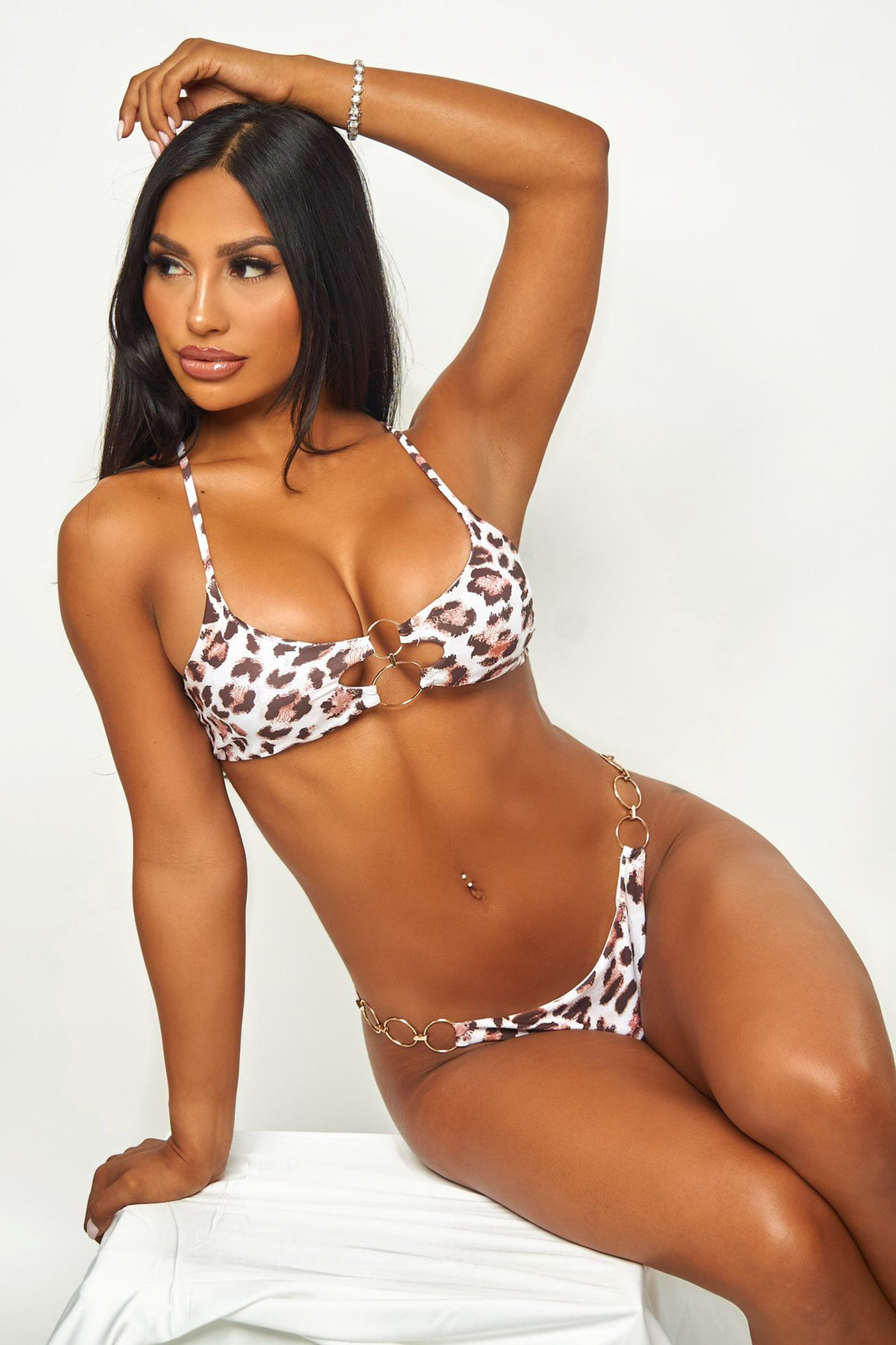 MELI BIKINI - CHEETAH Lotus Couture Miami