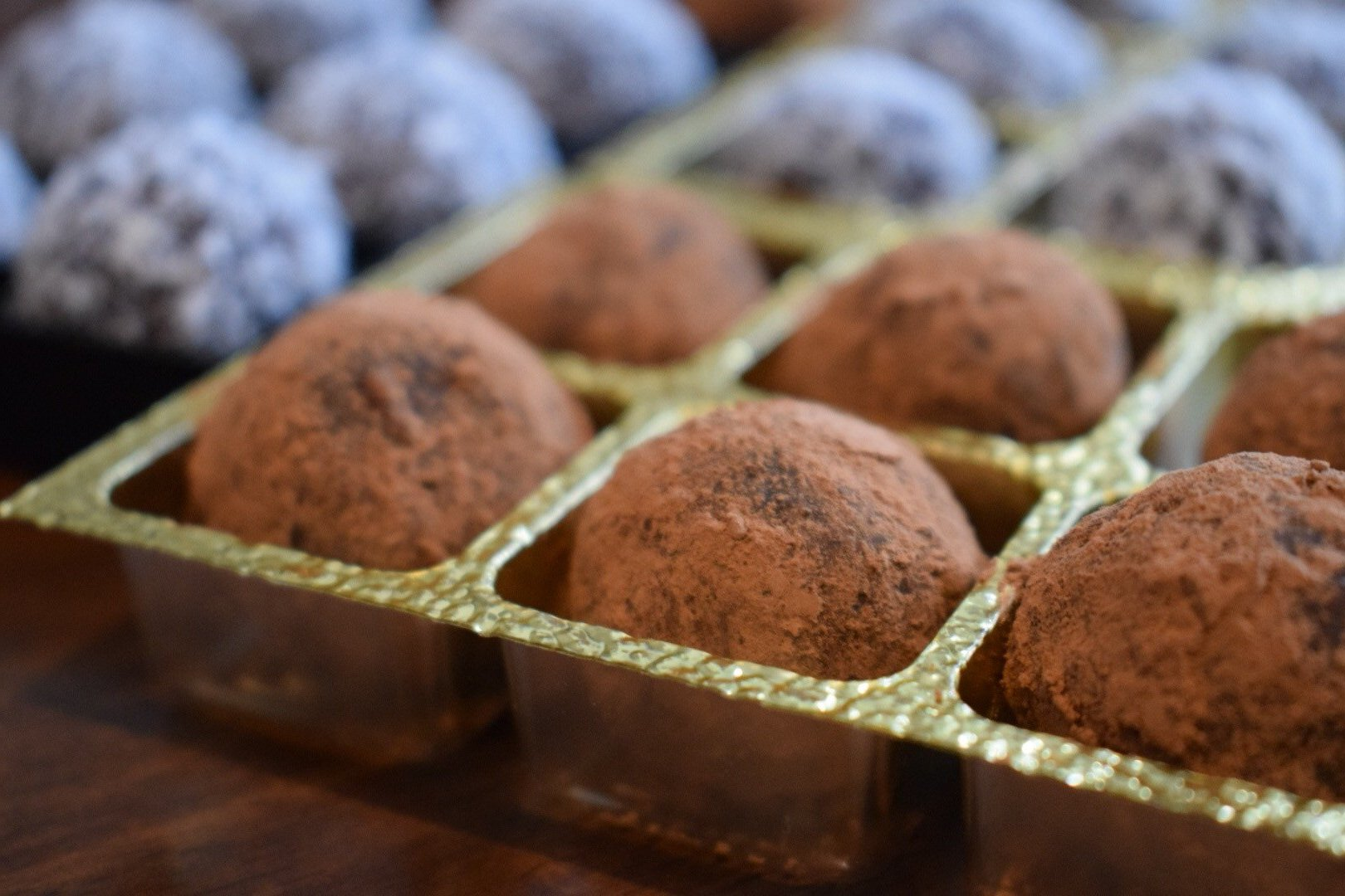 vegan chocolate balls