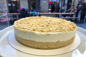 nora and nama vegan cookie cheesecake