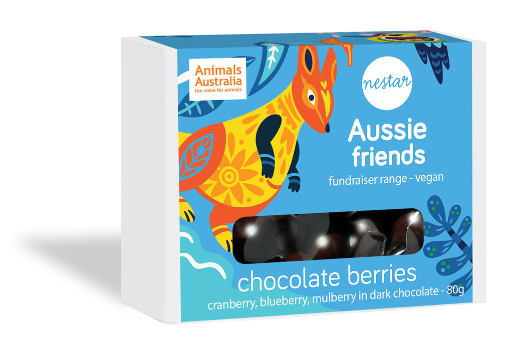 Aussie Friends - Dark Chocolate Berries