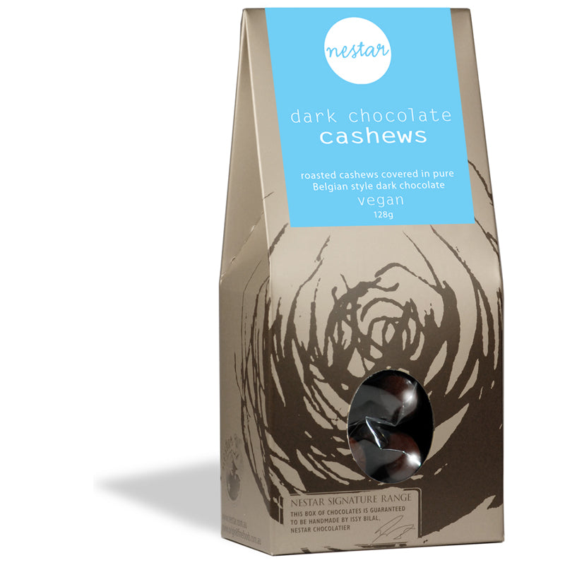 Cashews in dark chocolate 128g