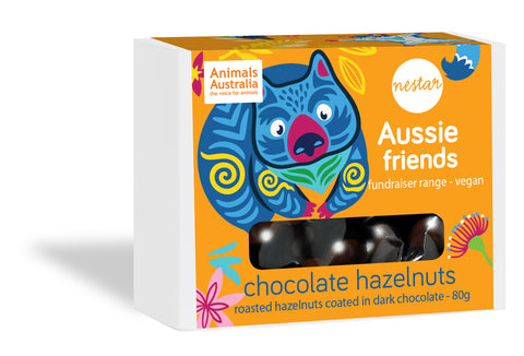 Aussie Friends - Dark Chocolate Hazelnuts