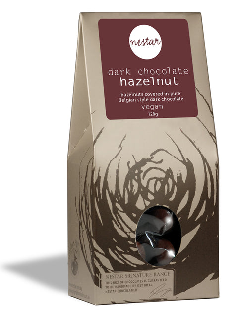 Dark Hazelnut 128g - Nestar Chocolates