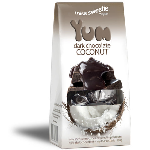 Dark Coconut 100g - Nestar Chocolates
