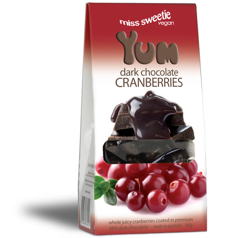 Dark Cranberry 80g - Nestar Chocolates