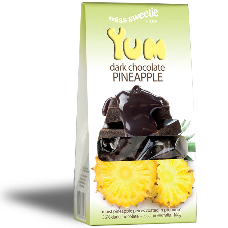Dark Chocolate Pineapple 100g - Nestar Chocolates
