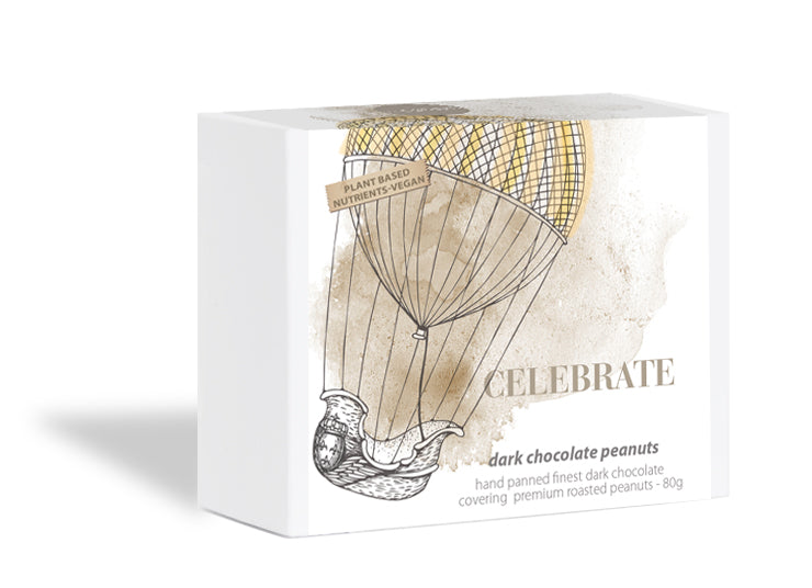 Celebrate Series - Dark Chocolate Coated Peanut
