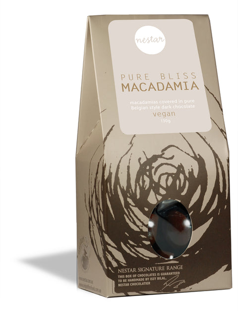 Pure Bliss Macadamia 128g - Nestar Chocolates