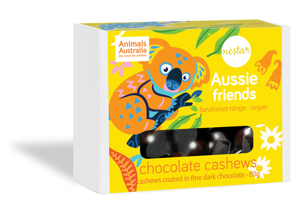 Aussie Friends - Dark Chocolate Cashews