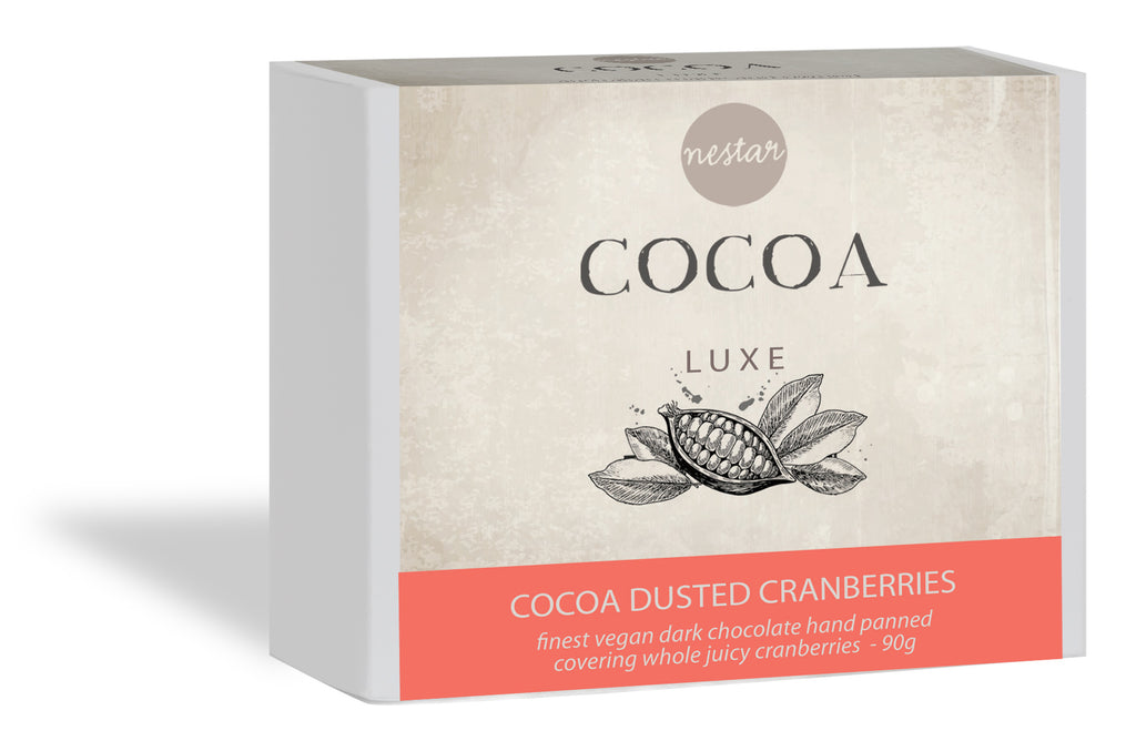 Cocoa Luxe - Cocoa Dusted Cranberries