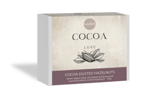Cocoa Luxe - Cocoa Dusted Hazelnuts