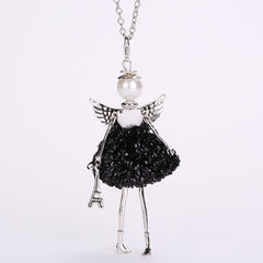 Angel Wings Fairy Pendant