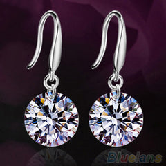 Cubic Zirconia Drop Earring
