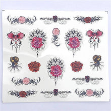 1 Sheet Assorted Nail Art Sticker /  Nail Art Sticker Water Transfer Nail Art Decal