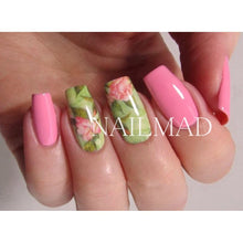 1 Sheet Nail Art Water Decals Chic Floral Transfer Sticker Tattoo Decals