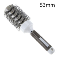 Ceramic Iron Round Barrel Professional Hairdressing Brush For Salon Styling & Shaping