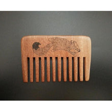 Sandal Wood Non Static Beard Or Hair Comb Hair Styling Set