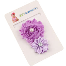 1 Piece Newborn To Toddler Baby Flower Headband With Crystal Detail