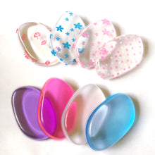 Multi Coloured Transparent Silicone Gel Sponge Makeup Accessories