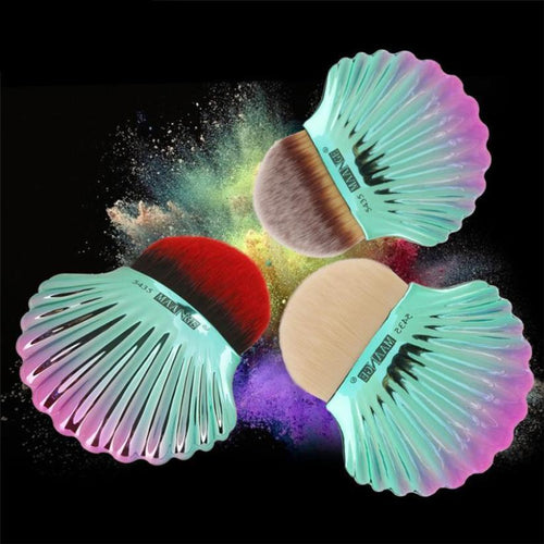Professional 1 Piece Large Shell Powder Makeup Brush Cosmetics Set