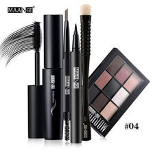 9 Piece Make Up Set For Eyes & Eyebrows Together With A Second Make Up Set