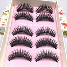 5 Pairs Of Natural Long,Thick & Soft False Eyelashes