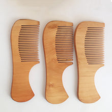 Anti-Static Pocket Sized Beech Wood Hair Comb